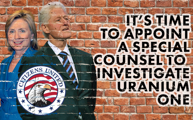 Its time to appoint a special counsel to investigate Uranium One